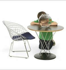 КРЕСЛО CHILD`S BERTOIA DIAMOND