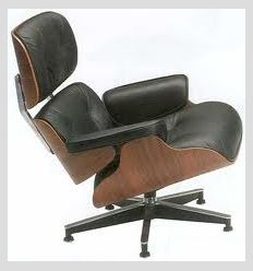 КРЕСЛО EAMES LOUNGE CHAIR 1717